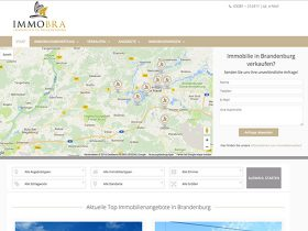 Immobra Immobilien – Website Relaunch