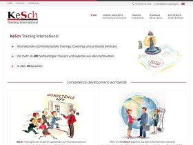 Kesch Training – Website Relaunch