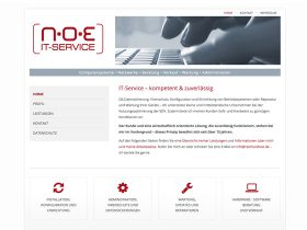 Reinhard Noe IT.Service – Website Relaunch
