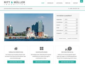 Ritt & Müller Immobilien – Website Relaunch
