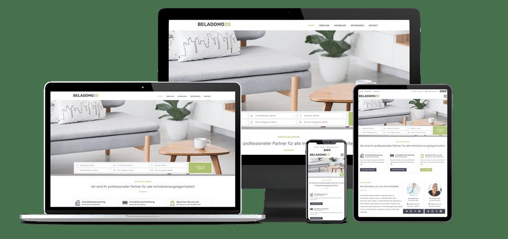 Beladomo - Immobilien Theme für WordPress