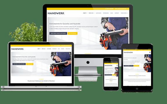 Handwerk - WordPress Theme für Handwerksbetriebe