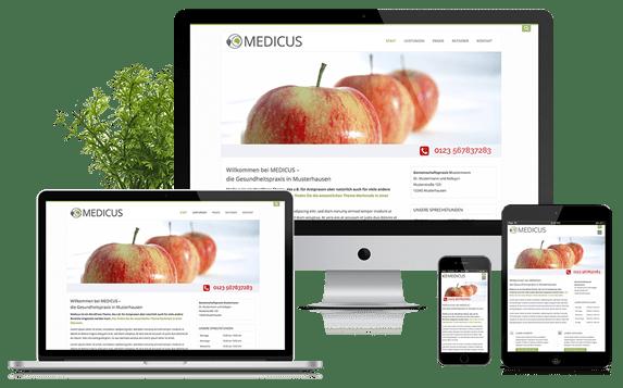 Medicus - WordPress Theme für Arztpraxen
