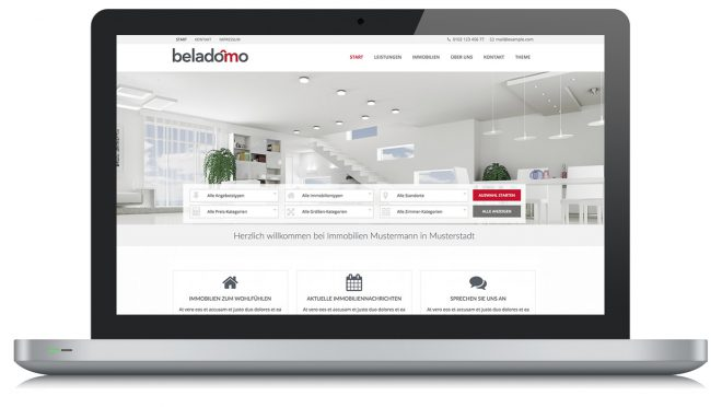 Beladomo WordPress Theme