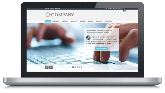 Wordpress Theme Company