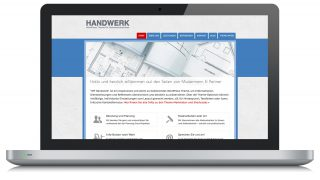 Wwordpress Theme Handwerk