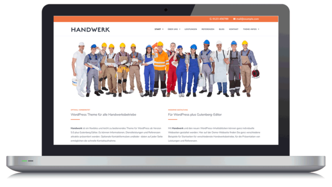 Handwerk - WordPress Theme