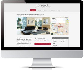 Immobilienobjekte mit Bildergalerie und Standort