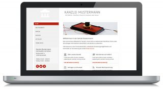 Wordpress Theme Kanzlei