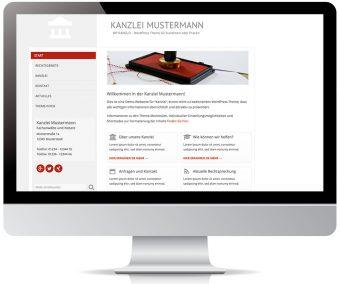 Startseite mit indiviudellen Iconboxen