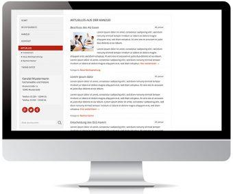 Blogfunktionen für Aktuelles oder Ratgeber