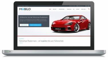 Mobilo - WordPress Theme für Fahrschulen