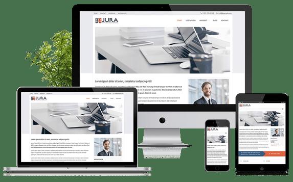 JURA - WordPress Theme für Kanzleien