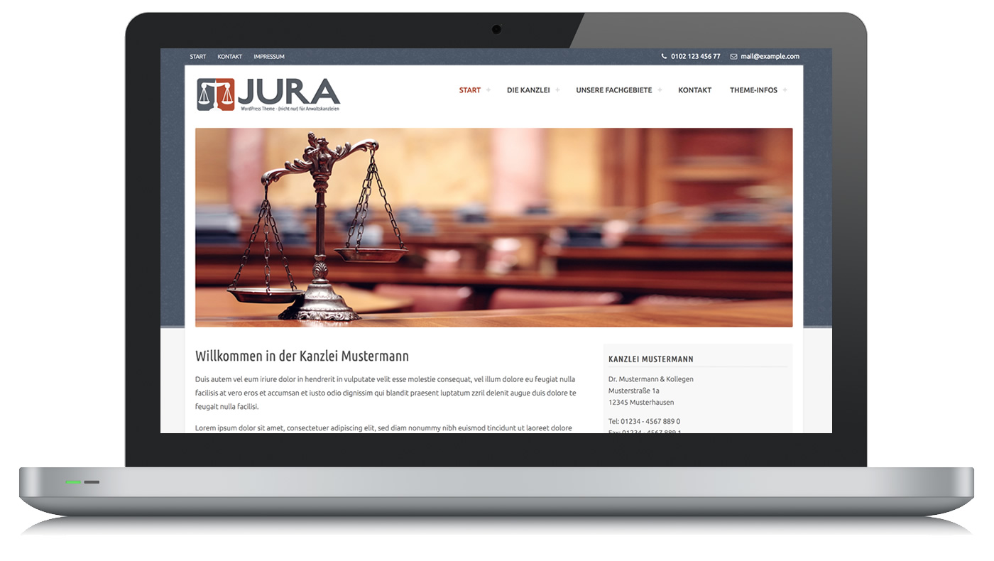 Jura WordPress Theme
