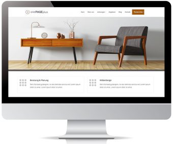 onePAGEplus WordPress Theme