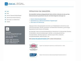 dataLegal <br /> Theme-Entwicklung