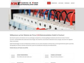 HWE Elektroinstallation <br /> Website-Relaunch
