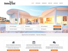 Immo-Y-Sol <br /> Immobilien-Webseite