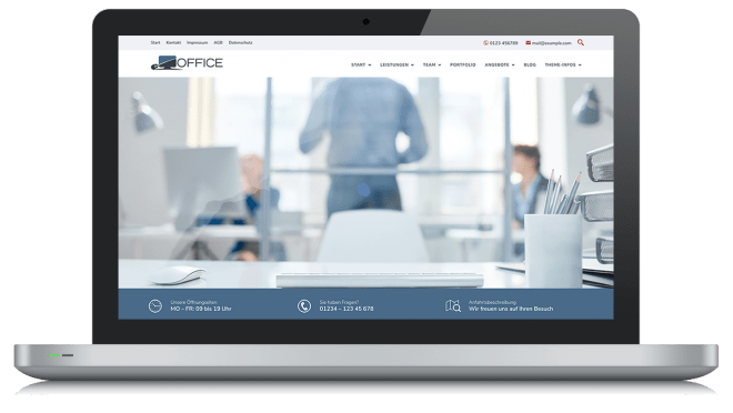 BO Office - Theme für WordPress und Gutenberg