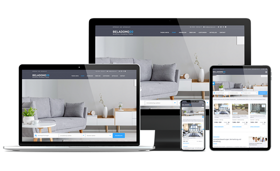 Beladomo - Immobilien Theme für WordPress