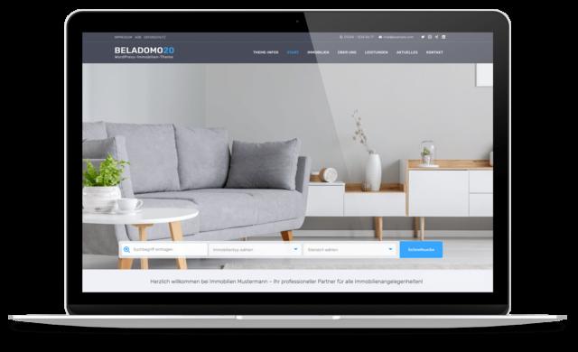 BO Beladomo - WordPress Theme für Immobilienmakler