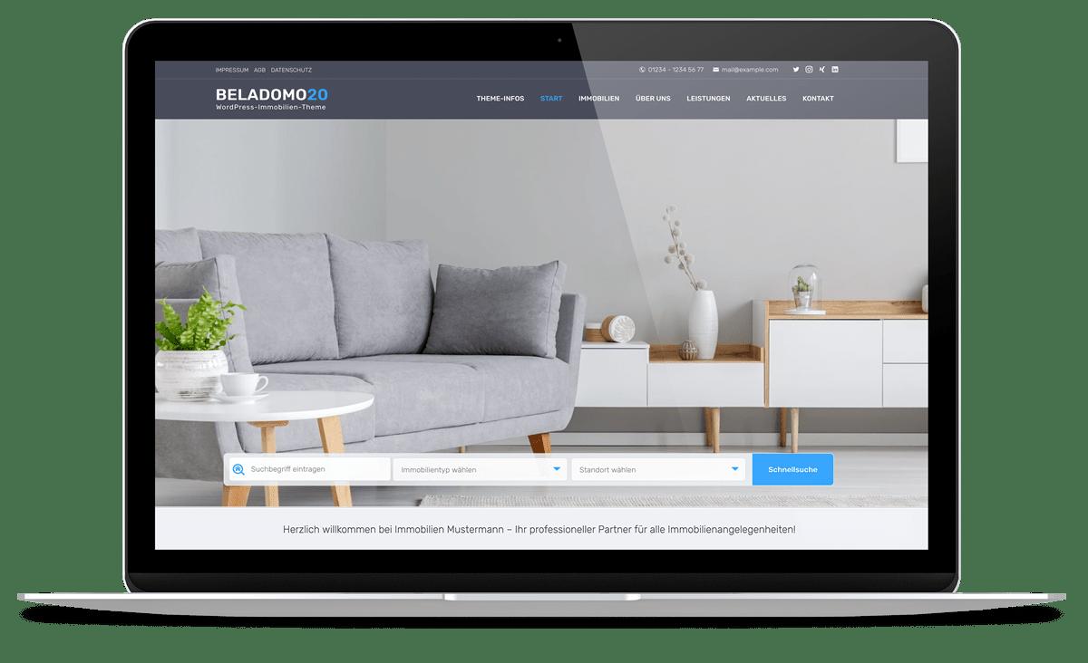 Für Immobilien-Webseiten