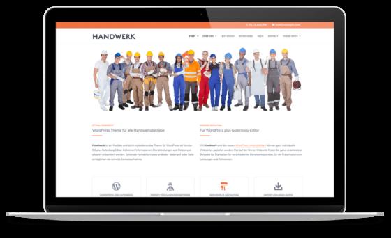 BO Handwerk - WordPress Theme für Handwerksbetriebe
