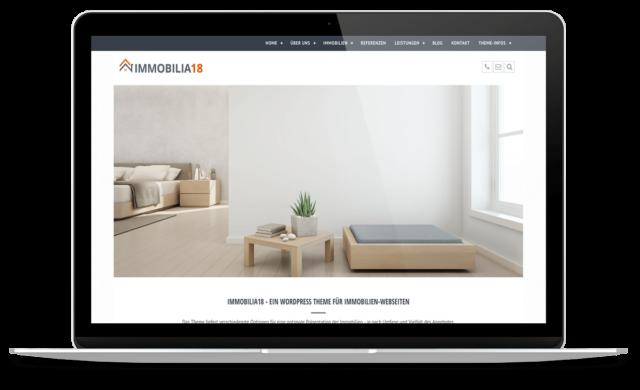 BO Immobilia18 - WordPress Theme für Immobilienmakler
