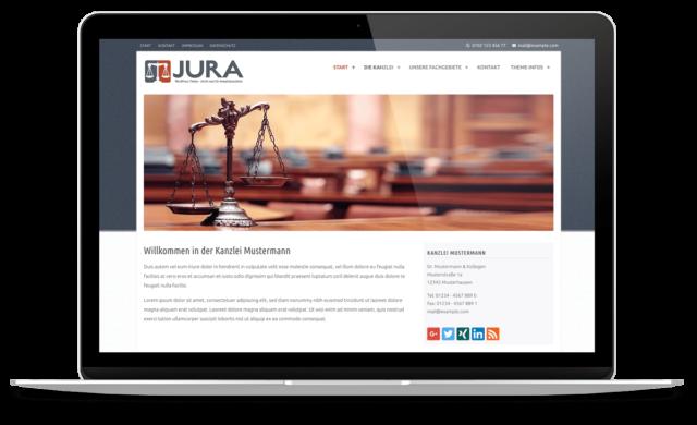 BO Jura - WordPress Theme für Anwaltskanzleien