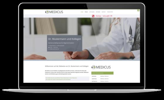 BO Medicus - WordPress Theme für Arztpraxen