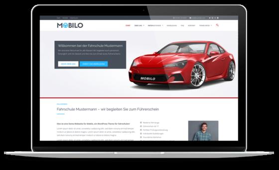 BO Mobilo - WordPress Theme für Fahrschulen