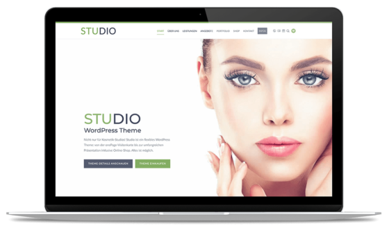 BO Studio WordPress Theme - onePage