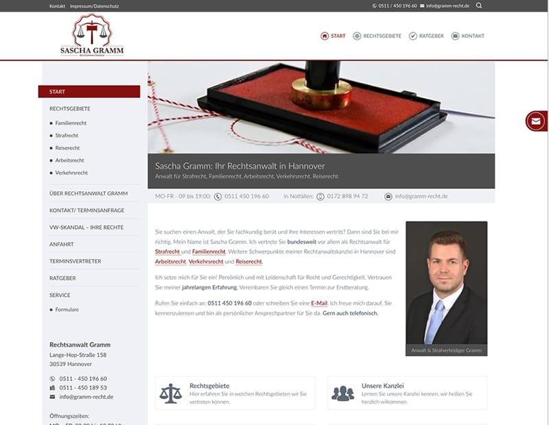 Rechtsanwalt Gramm, Hannover