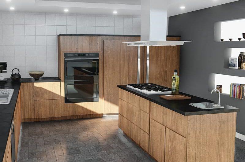 Renovierung und Kücheneinbau