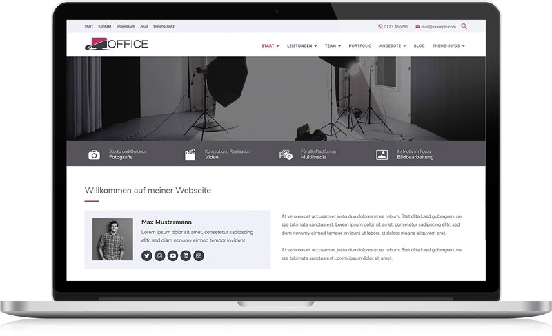 WordPress Theme - BO Office