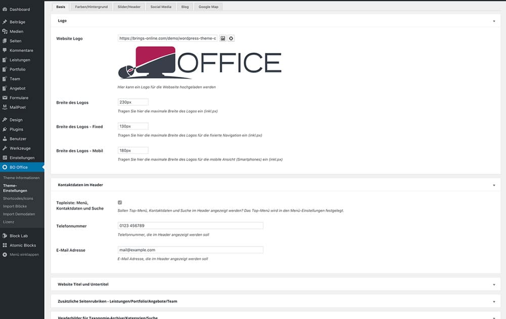 WordPress Theme Office - Screenshot5
