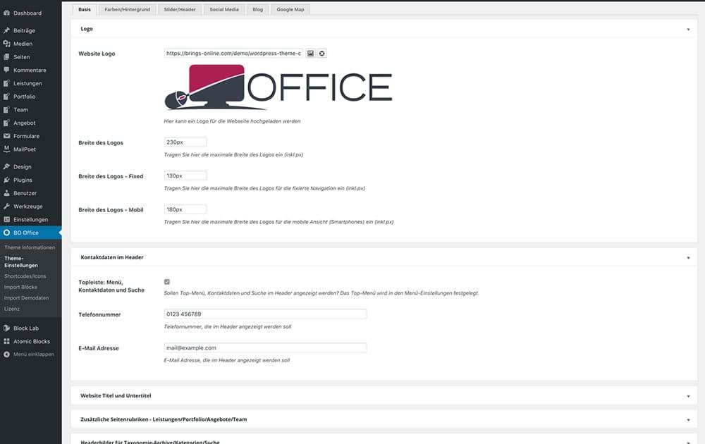 WordPress Theme Office - Screenshot5
