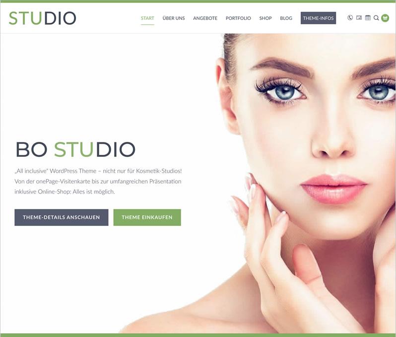 BO Studio WordPress Theme