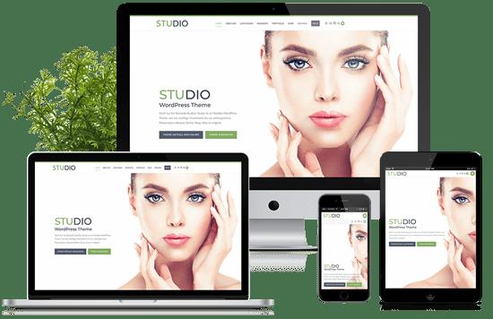 BO STUDIO - OnePage und mehr - Theme für WordPress